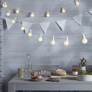 20 Warm White Party Lights
