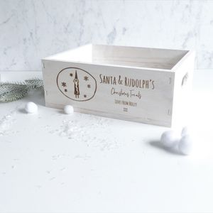 Personalised Santa's Christmas Eve Treat Box