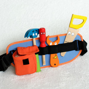 Wooden Tool Belt - traditional toys & games
