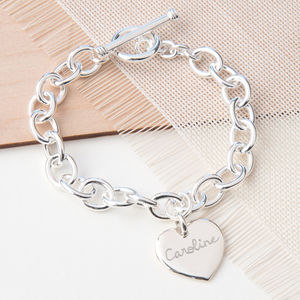 Mix And Match Personalised Link Bracelet