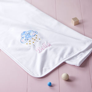Liberty Cloud Baby Blanket - gifts: under £25
