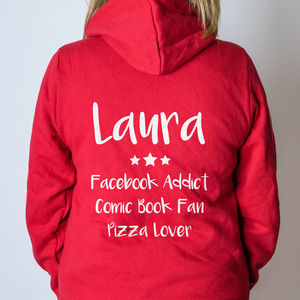 Personalised Onesie - men's fashion