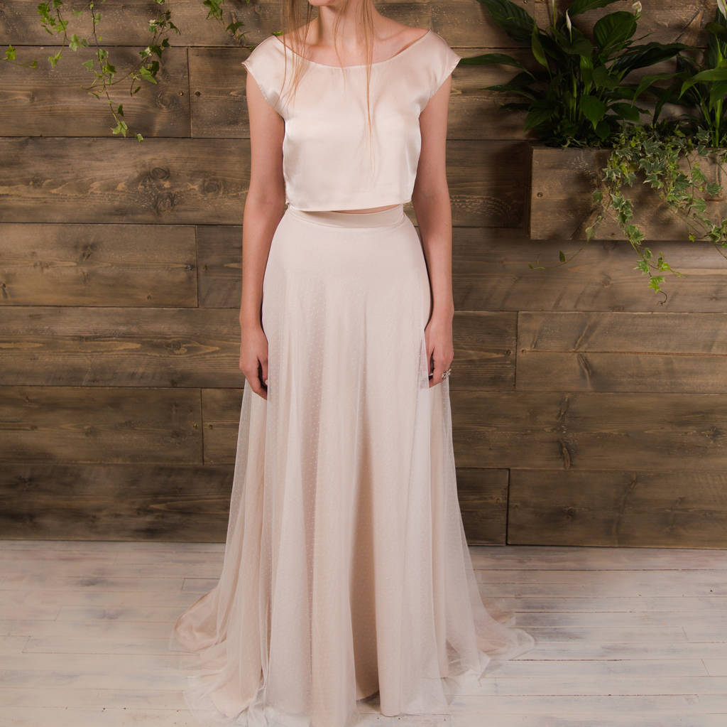 Frankie Bridal Separates Two Piece By E&w Couture
