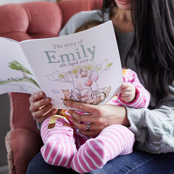 Personalised New Baby Story Book