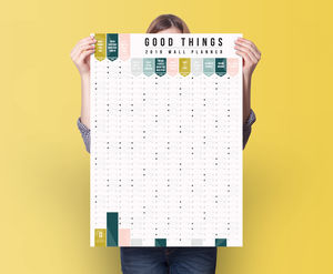 Good Things 2019 Year Planner Calendar