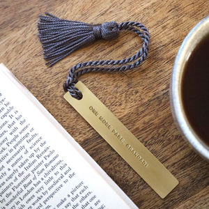 Personalised Bedtime Bookmark - desk accessories