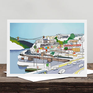 Bristol Views Greetings Card