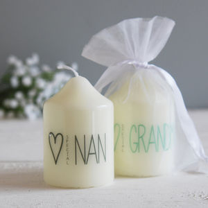 Special Nanny Grandmother Candle
