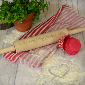 Personalised Baked By Rolling Pin - kitchen