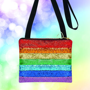 Rainbow Glitter Bag - view all new