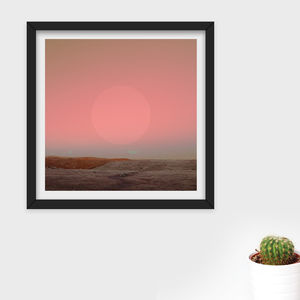 Limited Edition 'Sun' Photographic Print - giclée