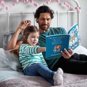 'My Dad' Personalised Book For Fathers - personalised gifts