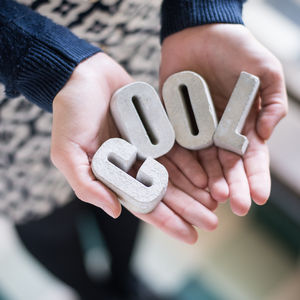 Concrete Mini Gift Boxed Letters - home accessories