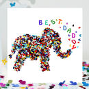 Best Daddy Elephant Card