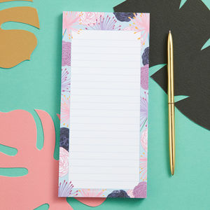Flora Magnetic List Pad