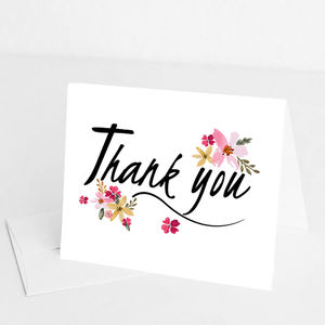 Thank You Card - whatsnew