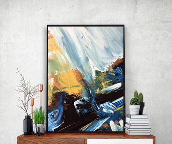 Abstract 52 Limited Edition Poster Art A4 Or A5 Size