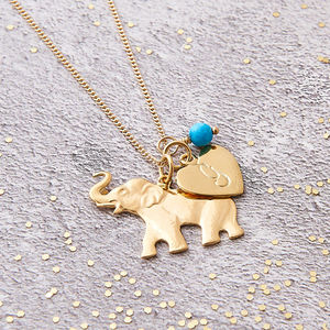 Elephant Lucky Charm Necklace