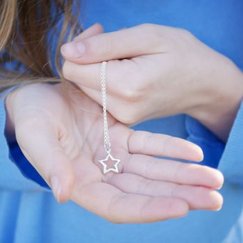 Childrens Star Necklace