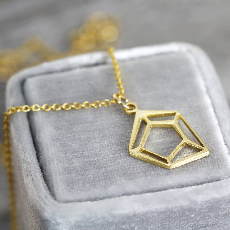 original by amaraamara solid with pendant gold necklace product amara geometric chain
