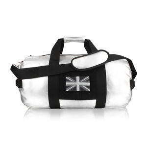 Customised Silver Holdall For Girls - whats new