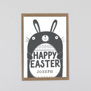 Easter Card Personalised