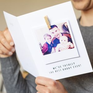 Personalised A5 Photo Message Card