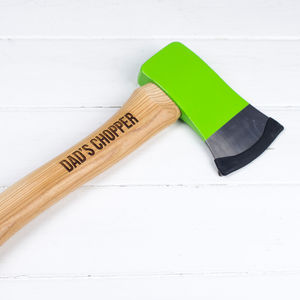 Personalised Axe - tools & equipment
