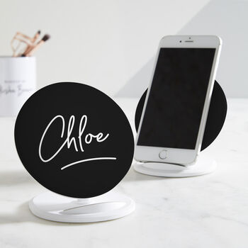 Personalised Signature Wireless Charger