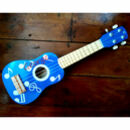 Personalised Ukulele For Children In Blue Or Red