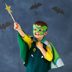 Dragon Wings Halloween Dress Up Cape And Mask