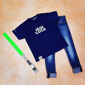 Personalised Jedi T Shirt - children's tops
