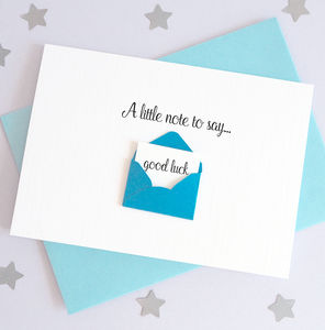 Note To Say Envelope Card - what's new