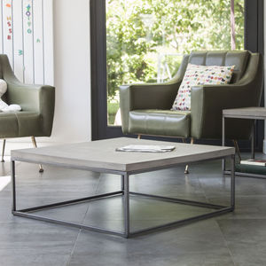 Concrete Perspective Coffee Table - furniture