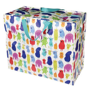 Monster Design Jumbo Storage/Sleepover/Beach Bag