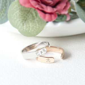 Personalised Open Ring - new season