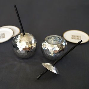 Disco Ball Cup - drink & barware