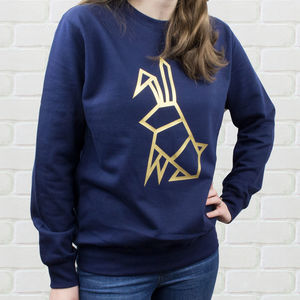 Origami Animal Jumper - women's fashion