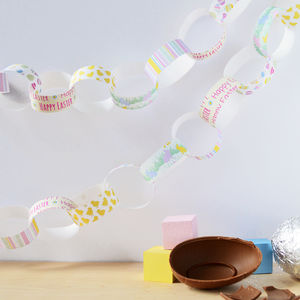 Easter Paper Chain Kit - easter decorations