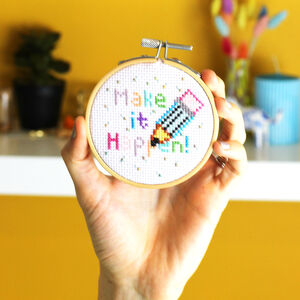 Make It Happen Cross Stitch Kit
