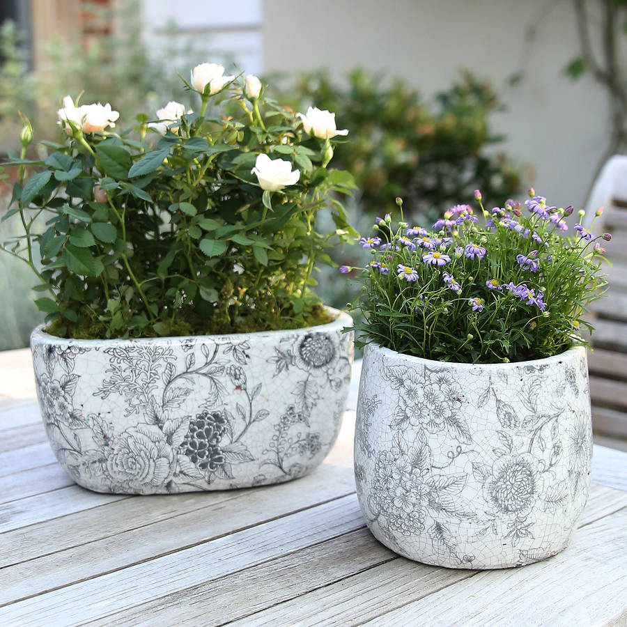 Etonnant Antique Garden Pots Planters Designs