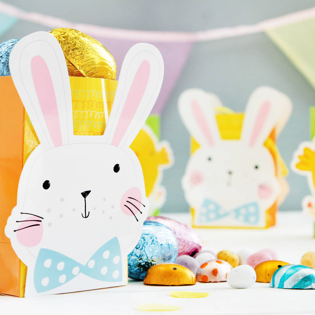 Bunny and chick party bags by postbox party notonthehighstreet bunny and chick party bags negle Image collections
