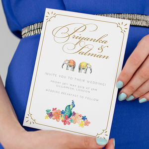 Indian Summer Save The Dates And Invitations - save the date cards