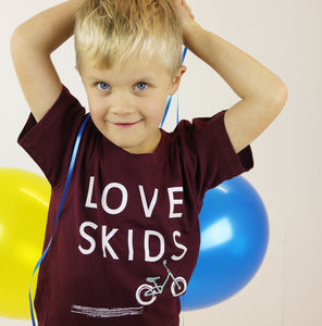 'Love Skids' Childrens T Shirt - t-shirts & tops