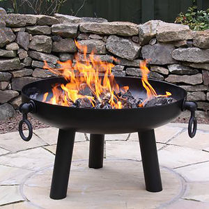 Large Fire Pit - fire pits & outdoor heating