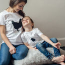 Mother Hen And Chick Easter T Shirt Set