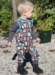 Forest Friends Kids All In One Dungarees - babies' dungarees