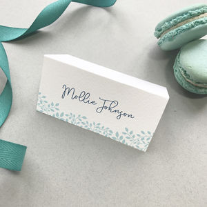 Alice Wedding Name Place Cards