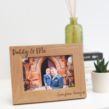 'Daddy And Me' Father's Day Gift
