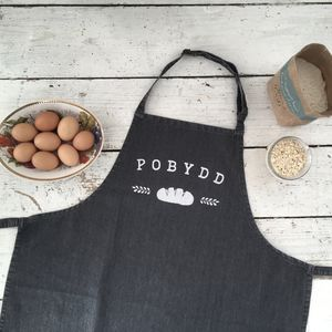 Welsh Pobydd Apron - baking